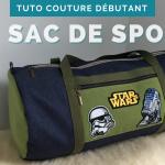 Coudre un sac de sport ou sac polochon